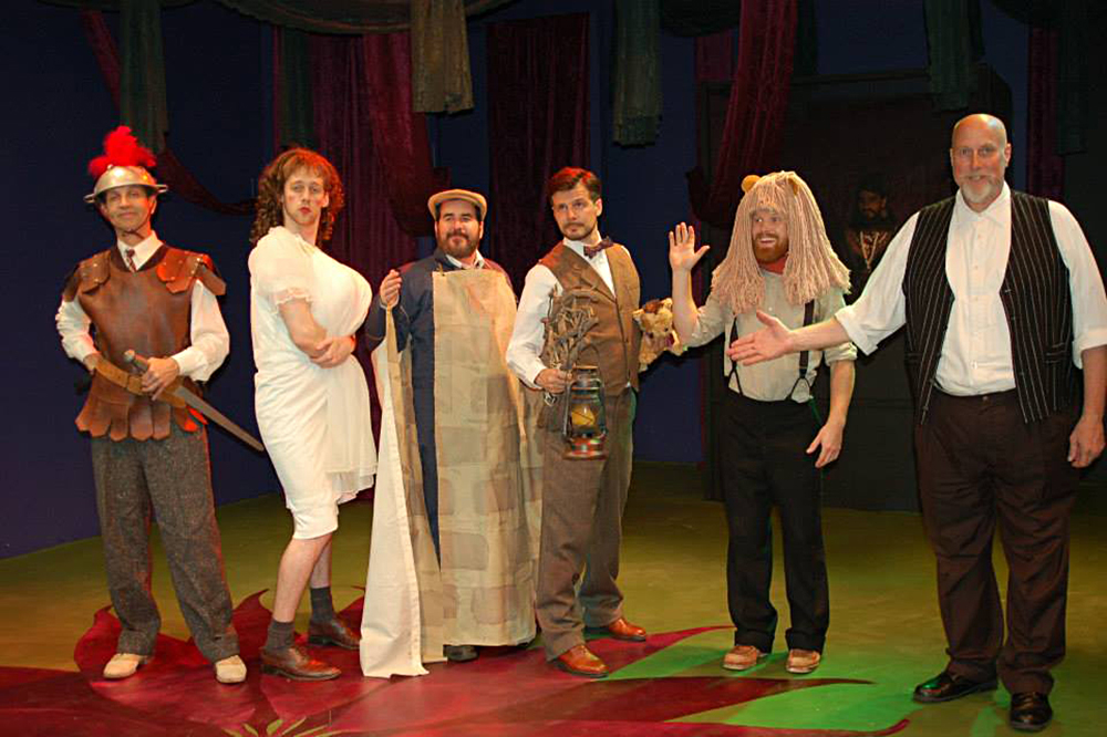 A Midsummer Night's Dream - New American Theatre, featuring Joseph Gilbert