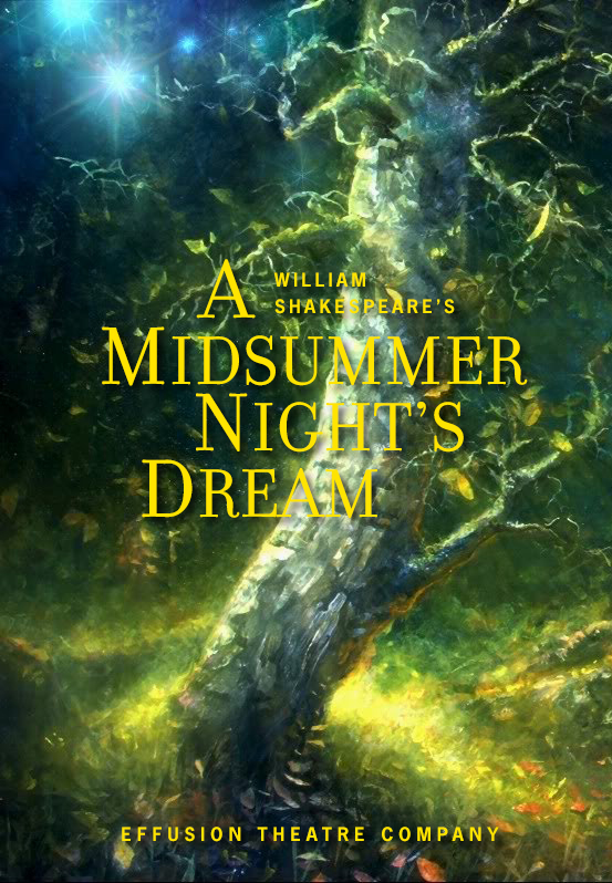 Playing Lysander in Shakespeare's 'A Midsummer Night's Dream'